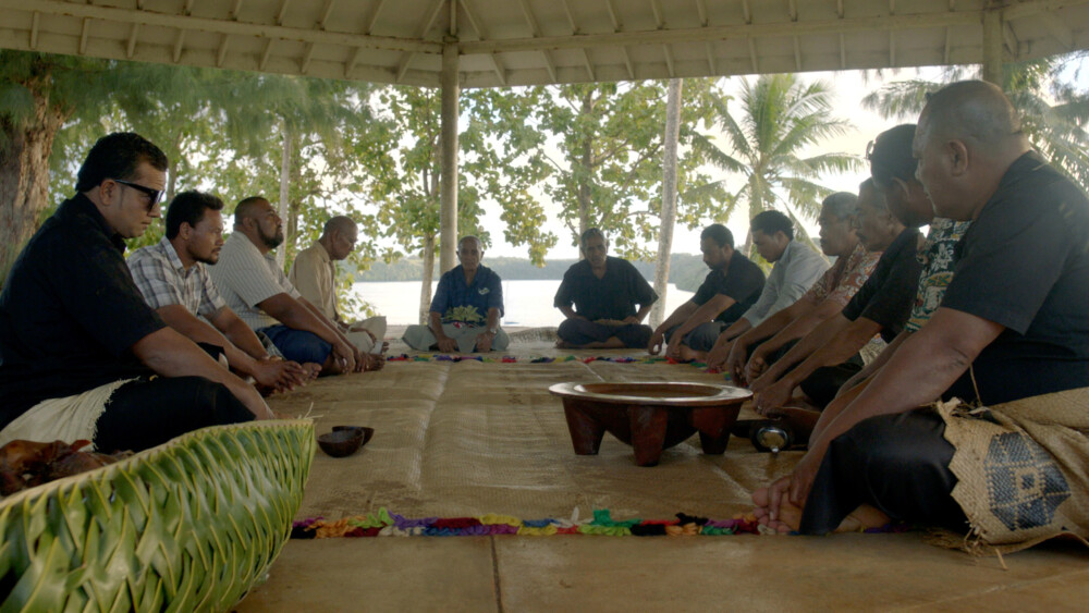zeroone@berlinale - Somewhere in Tonga beim Empfang des Filmfest Lünen