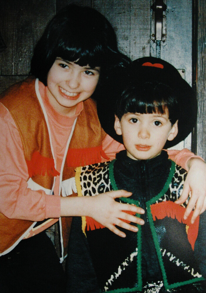 Copyright by Boris Klinge www.kitschfoto.de - Sebnitz/Sachsen Mord am kleinen Joseph Abdulla, mit Schwester Diana