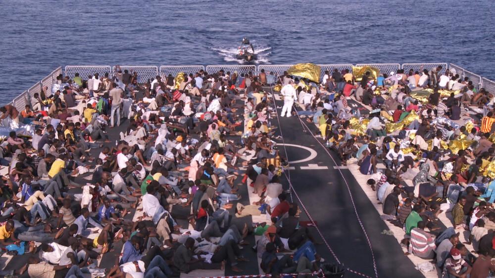 Bewegende Bilder von der Rettungsaktion Mare Nostrum